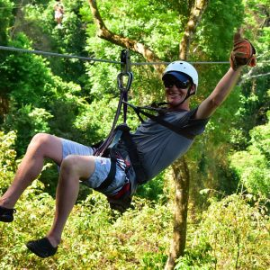 krabi tree top adventure park, tree top adventure park
