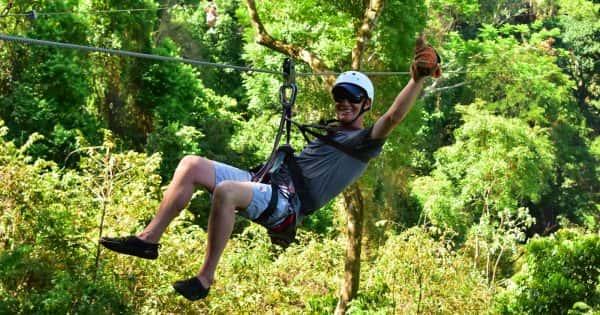 krabi tree top adventure park, tree top adventure park