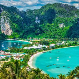 phi phi island tour, phi phi island, tour from krabi