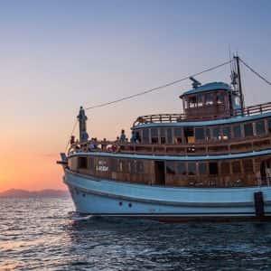 krabi 4 island sunset, krabi 4 island tour, sunset snorkeling, lalida cruise, lalida sunset cruise