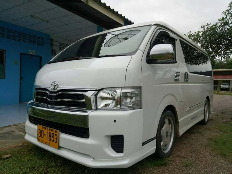 Krabi to Khao Sok krabi to khao lak Krabi to Khao Lak Transfer by Air-conditioner Van AC Van transfers to Khao Lak Khao Sok