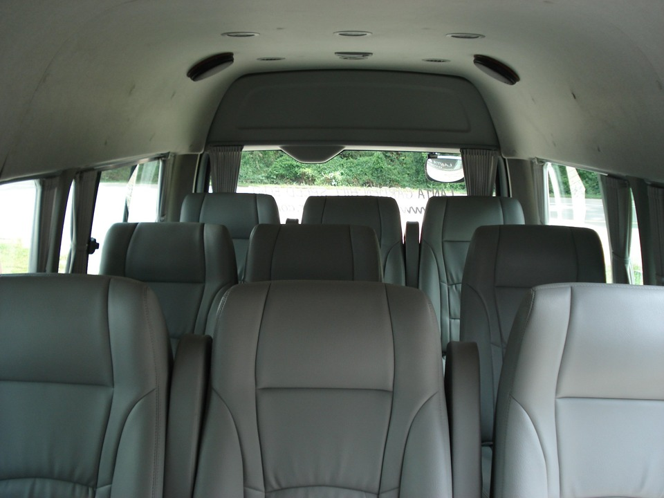 krabi to khao lak Krabi to Khao Lak Transfer by Air-conditioner Van Comfortable seats with wide room inside