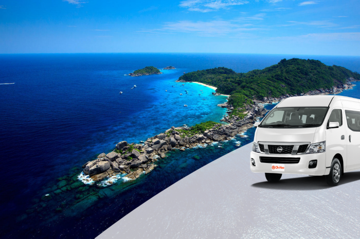 Krabi to Khao Lak Transfer by Air-conditioner Van