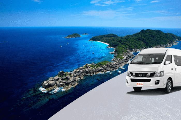 Krabi to Khao Lak Transfer by Air-conditioner Van