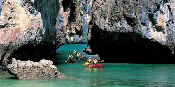 sea cave kayak at bor thor