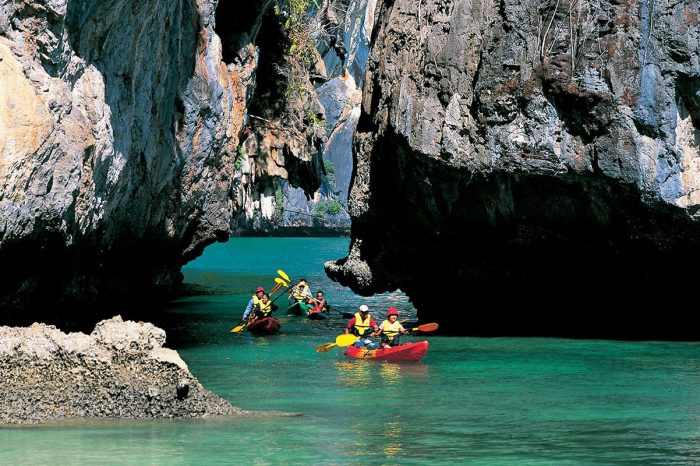 Sea Cave Kayak at Bor Thor Krabi