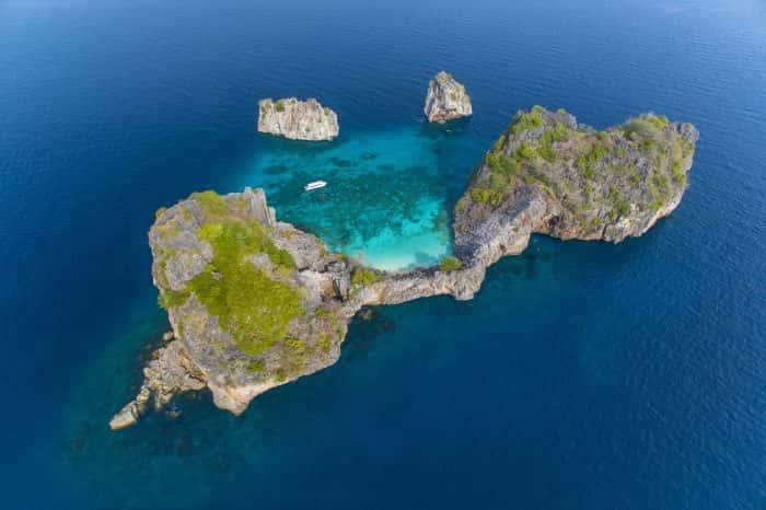 แพ็กเกจ 3 วัน 2 คืน เกาะรอก เกาะห้า กระบี่