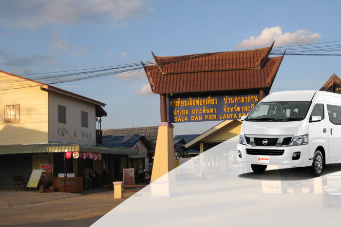 Krabi To Koh Lanta  by Shared AC Van