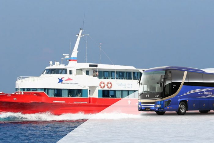 Krabi To Koh Samui by Bus and Ferry