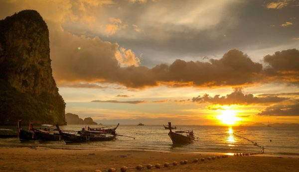 krabi 4 island sunset