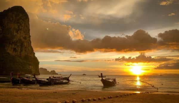 krabi 4 island sunset