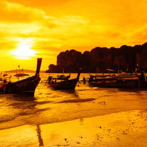 krabi 7 island sunset