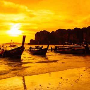krabi 7 island sunset