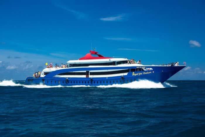 Krabi to Phi Phi Island Transfer by Ferry transportation service Transportation Service Krabi to Phi Phi Island Transfer by Ferry 700x466