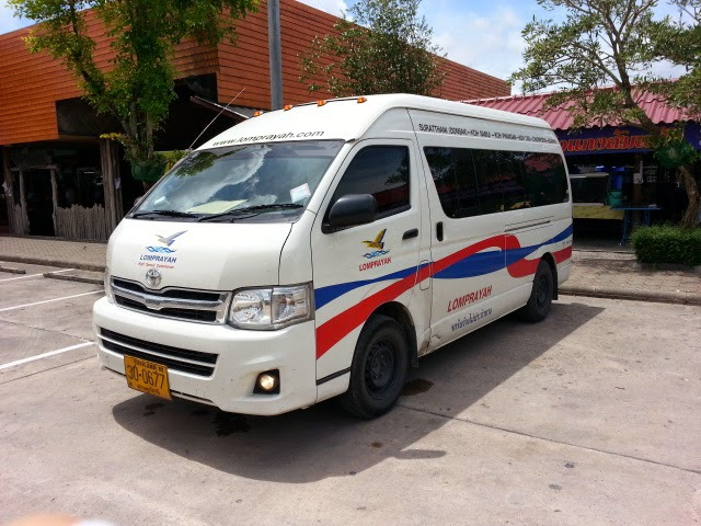 krabi to koh phangan Krabi To Koh Phangan by Bus and Ferry Pickup service by AC Van from your hotel to the bus center