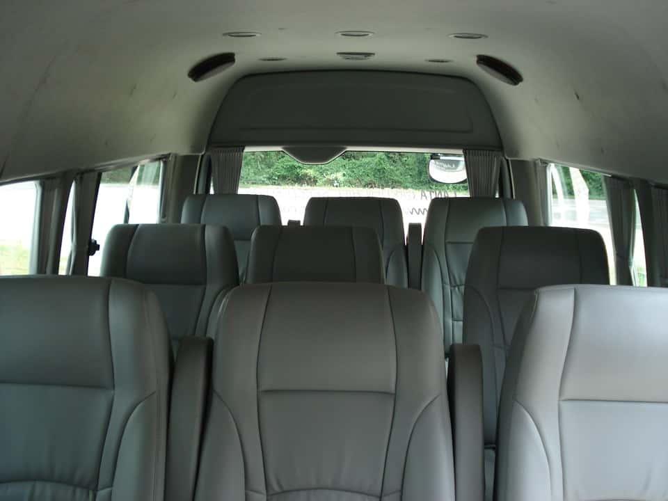 krabi to koh lanta Krabi To Koh Lanta  by Shared Air-conditioner Van The comfortable seats inside the van