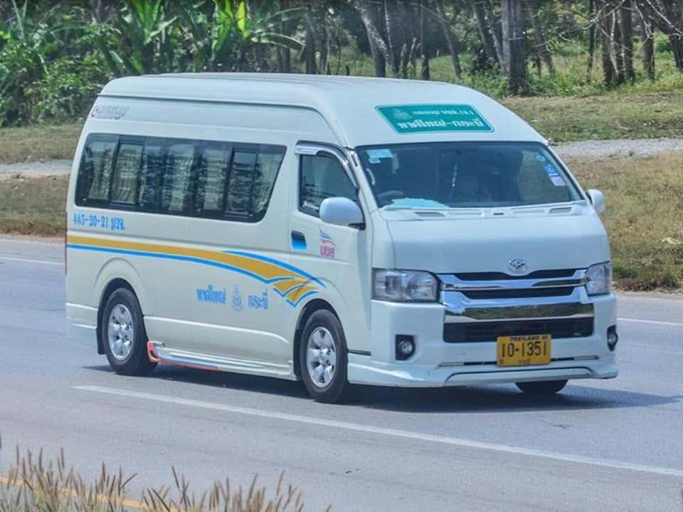 krabi to hat yai Krabi To Hat Yai by A/C Van AC Van transfers from Krabi to Hat Yai everyday