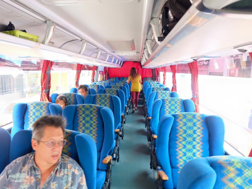 krabi to kuala lumpur Krabi To Kuala Lumpur (Malaysia) by A/C Van and VIP Bus Convenient and comfortable Bus on your journey in long distance