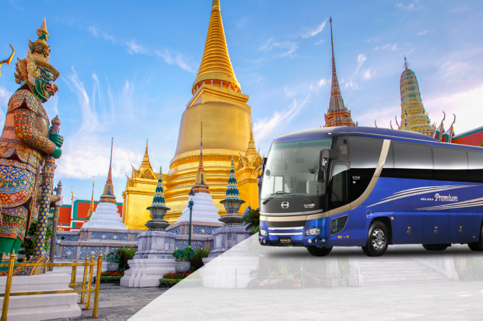 Transportation service from Krabi to Bangkok by A/C Bus