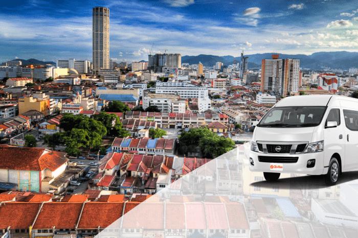 Krabi To Penang Malaysia by A/C Van