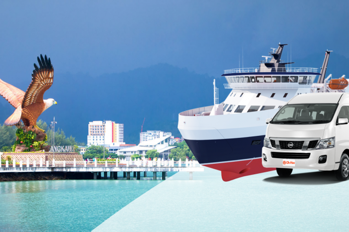 Krabi To Langkawi Malaysia by A/C Van and High Speed Ferry transportation service Transportation Service KBV Town Langkawi 1 700x466