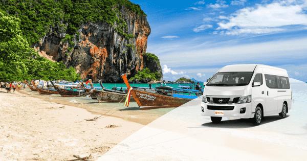 krabi town to railay beach