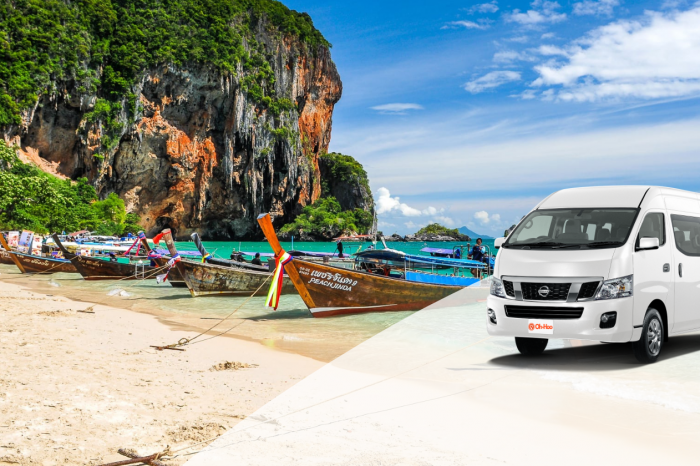 Transportation service from Krabi Town to Railay beach by Longtail boat