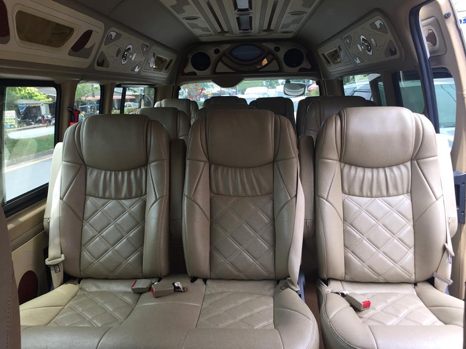 ao nang to krabi airport Ao Nang To Krabi Airport  by A/C Van Comfortable seats with air conditioner 2
