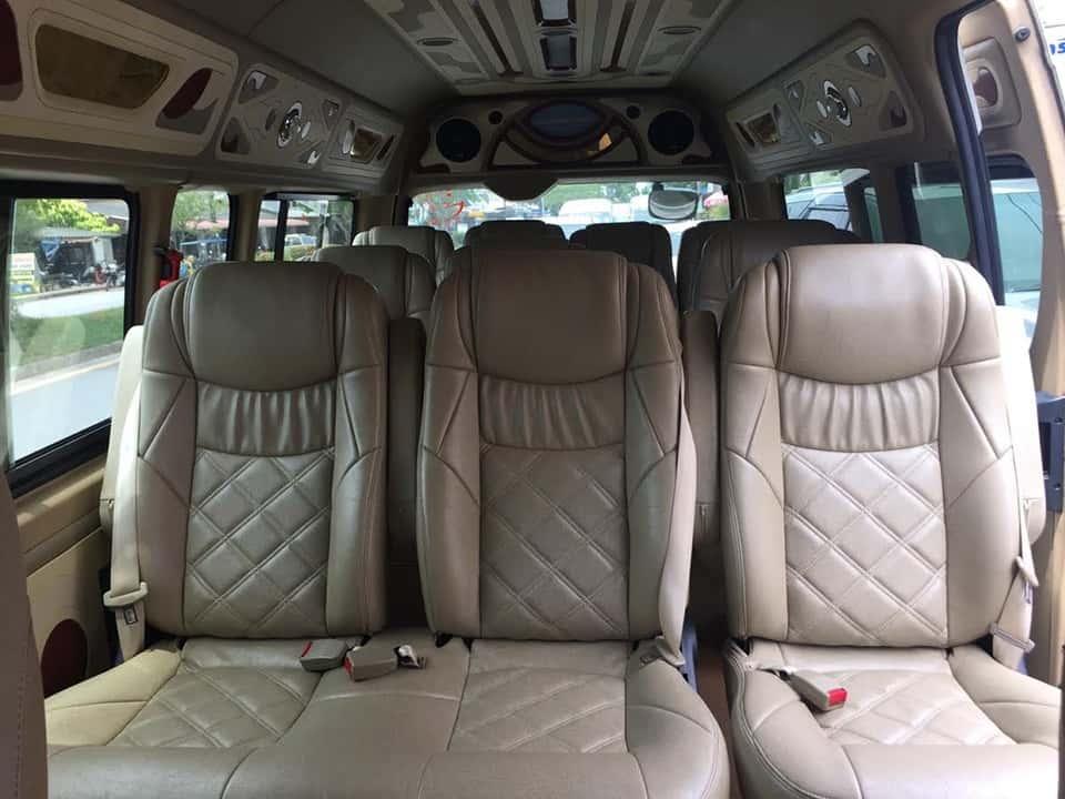 krabi to patong beach Krabi To Patong Beach by A/C Van Comfortable seats with air conditioner