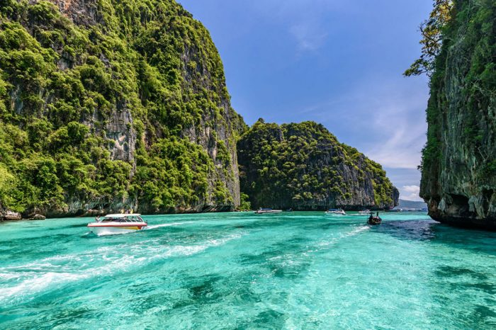 Early Bird Phi Phi and 4 Islands One Day Tour From Krabi