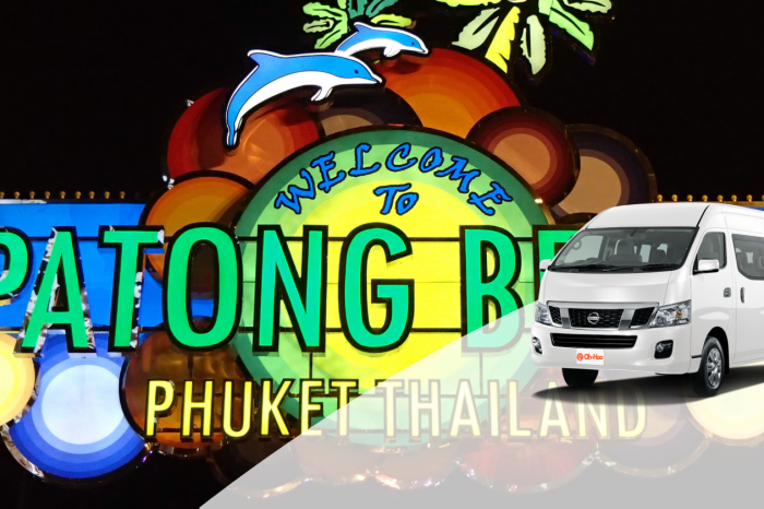 Transportation service from Krabi To Patong Beach by A/C Van