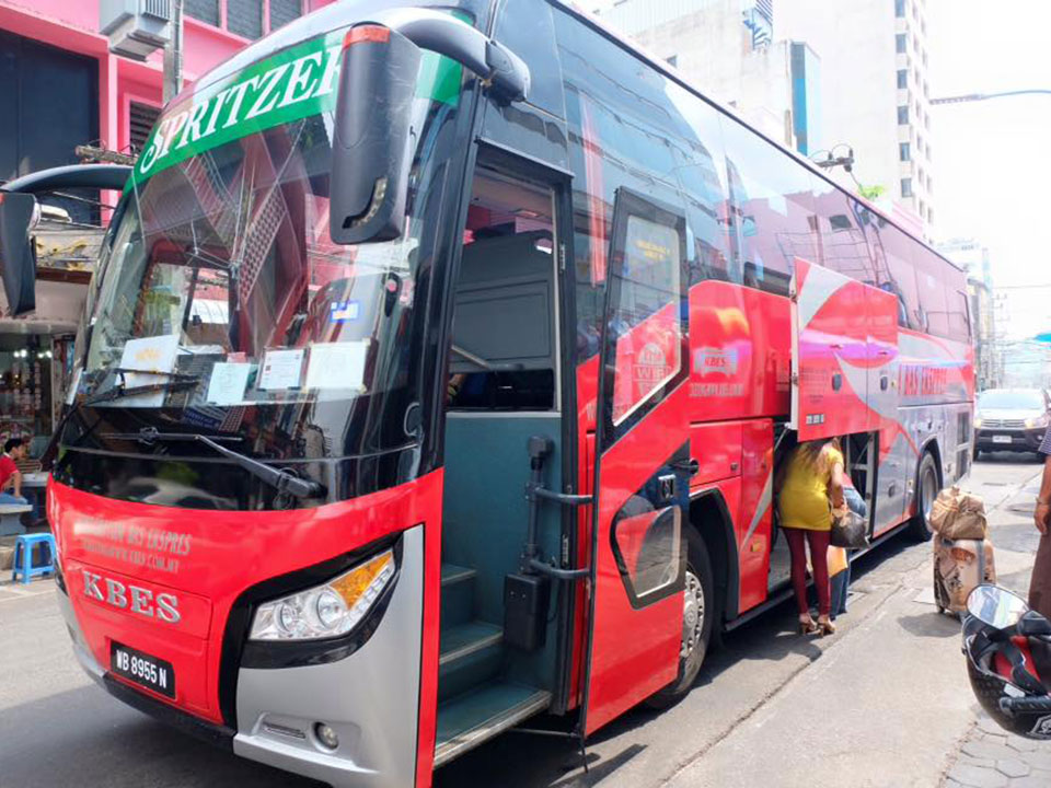 krabi to singapore Krabi To Singapore by Air-conditioner Van and VIP Bus VIP Bus trip from Hat Yai to Singapore everyday