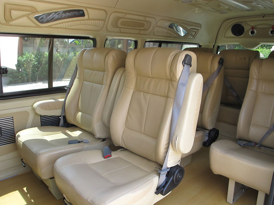 krabi to koh mook Krabi To Koh Mook by Air-conditioner Van and Longtail Boat Convenient Van with spacious room and comfortable seats
