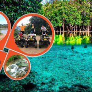 krabi jungle tour , ATV Riding