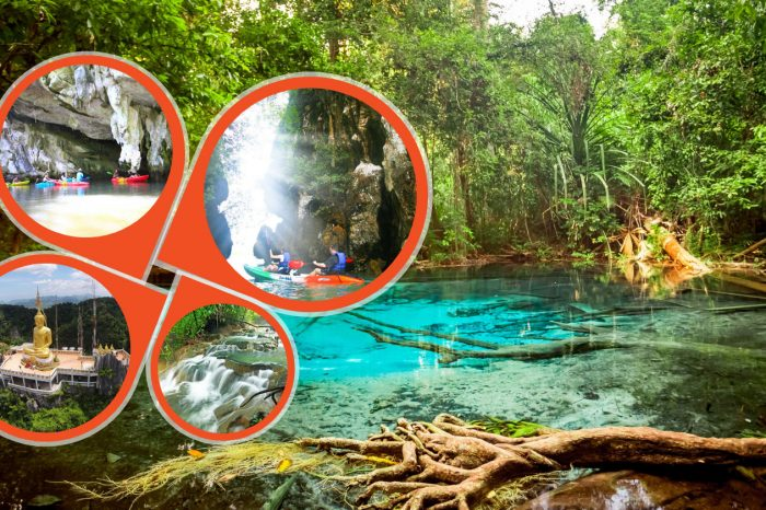 Krabi Jungle Tour with Kayaking at Ao Thalane things to do Things to Do, Destination, Tours & Activity CoverJungleTourWithKayakking 700x466