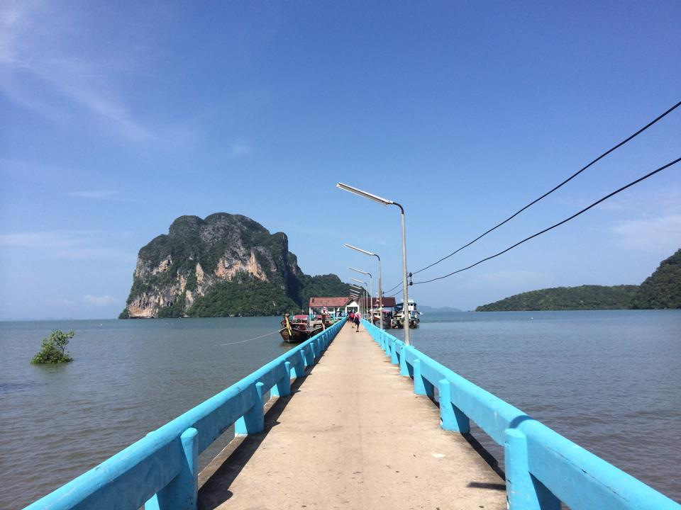 krabi to koh ngai Krabi To Koh Ngai by Air-conditioner Van and Longtail Boat Pak Meng Pier the gateway to Koh Ngai