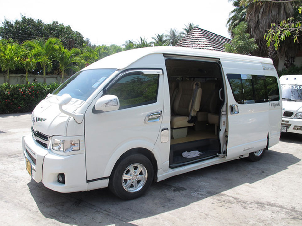 krabi to koh kradan Krabi To Koh Kradan by Air-conditioner Van and Longtail Boat Pickup service from your hotel by AC Van 1