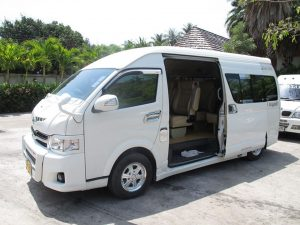 Pickup service from your hotel by AC Van Pickup service from your hotel by AC Van 300x225