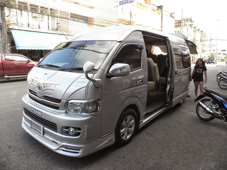 Patong Beach To Krabi patong beach to krabi Patong Beach To Krabi by Air-conditioner Van Take AC Van from Patong Beach to Krabi Town with pickup service at your hotel