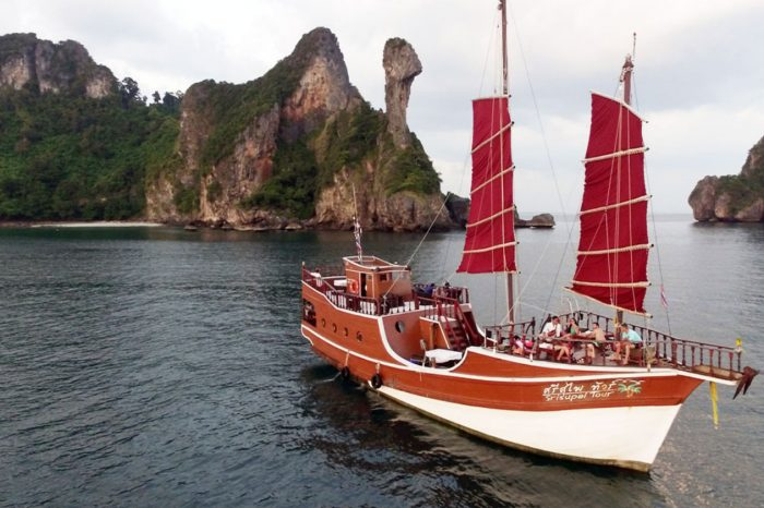 Krabi Romantic Dinner Sunset Cruise by Krabi Sea Cruise things to do Things to Do, Destination, Tours & Activity Cover02 700x466