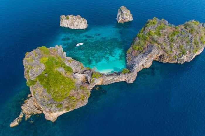Koh Rok Snorkeling Tour from Koh Lanta By Tin Adventure Sea Tour