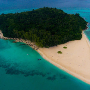 bamboo island one day tour, one day tour from krabi, bamboo island