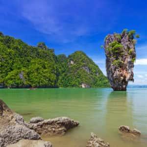 james bond island, phang nga bay, tour, big boat, from phuket