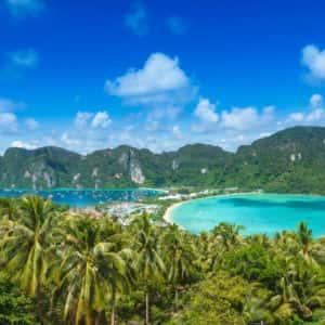 maya bay, bamboo, rang yai island tour, phi phi island tour, tour from phuket