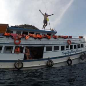 maya bay sleep aboard, tour from phi phi