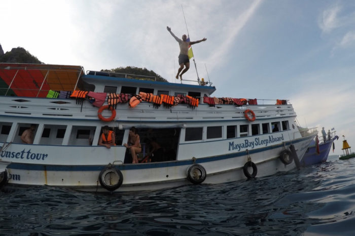 Maya Bay Sleep aboard Tour From Phi Phi things to do Things to Do, Destination, Tours & Activity Maya Bay Sleep aboard Tour From Phi Phi Cover01 700x466