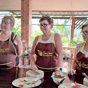 siam cuisine thai cookery school, cookery school krabi