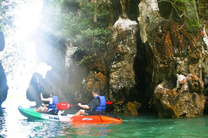 Ao Thalane Kayaking Half Day Tour From Krabi