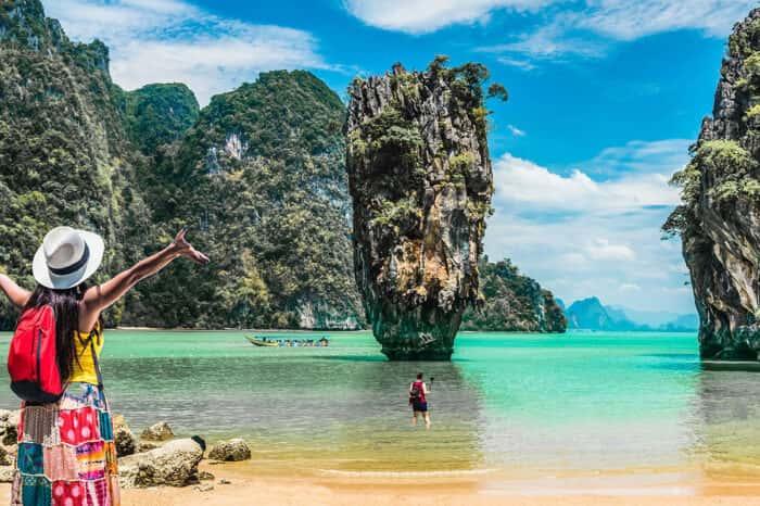 James Bond Island and Phang Nga Bay Tour By Big Boat From Phuket
