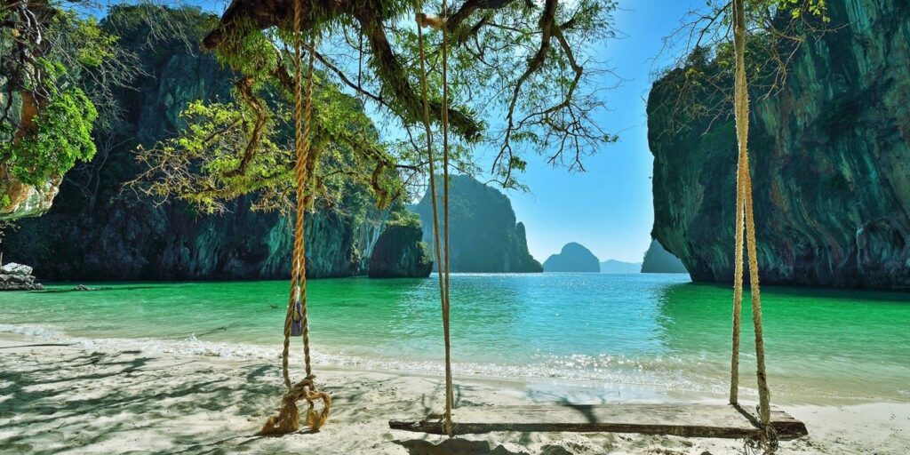 krabi attractions, thale waek (separated sea), koh poda, phi phi island, ao nang, railay bay krabi attractions Krabi attractions are must-see and worthwhile Koh Lading Lading Island 15 1024x512